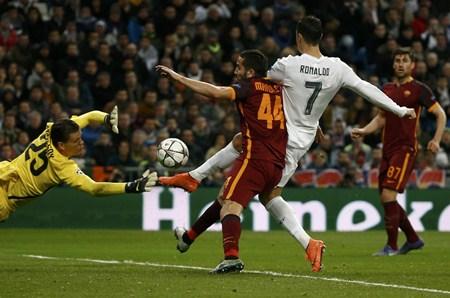 รีล มาดริด ยิงฝังโรมา 2-0 ตีตั๋วสู่รอบก่อนรองชนะเลิศ