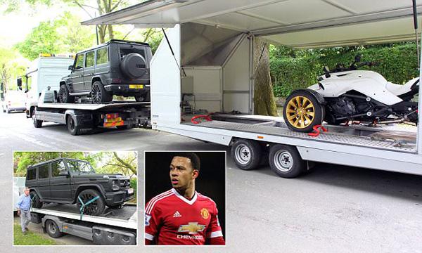 ส่อแววลาผีแดง เมมฟิส ส่งรถหรูกลับบ้านที่เนเธอร์แลนด์ส