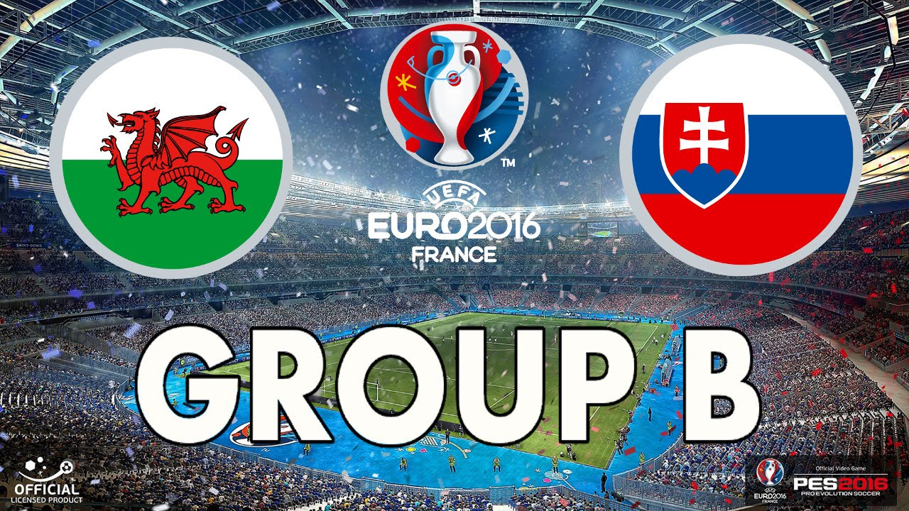 ลิ้งค์ดูบอล ยูโร 2016 เวลส์ Vs สโลวาเกีย เวลา23:00 น.