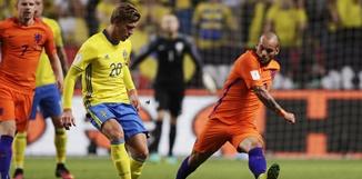 สวีเดน 1-1 เนเธอร์แลนด์