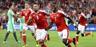 สวิตเซอร์แลนด์ 2-0 โปรตุเกส