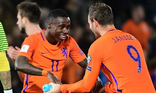 เนเธอร์แลนด์ 4-1 เบรารุส