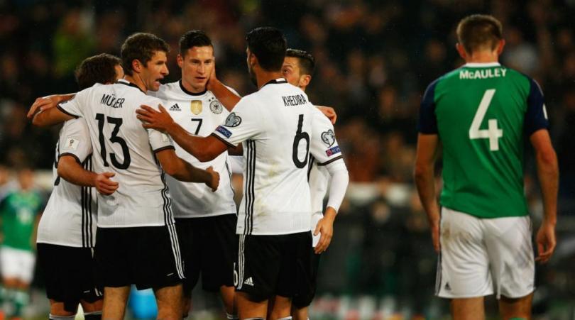 เยอรมัน 2-0 ไอร์แลนด์เหนือ