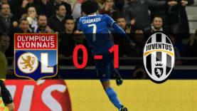 โอลิมปิก ลียง 0-1 ยูเวนตุส