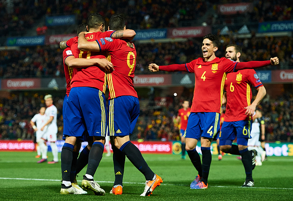 สเปน 4-0 มาซิโดเนีย