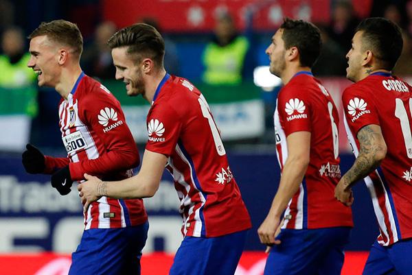 แอตเลติโก มาดริด 2-0 พีเอสวี ไอนด์โฮเฟ่น