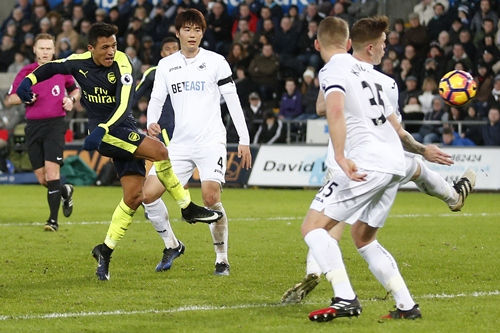 สวอนซี ซิตี้ 0-4 อาร์เซนอล