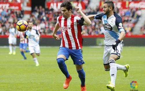 สปอร์ติ้ง คิฆอน 0-1 เดปอร์ติโบ ลา กอรุนญ่า