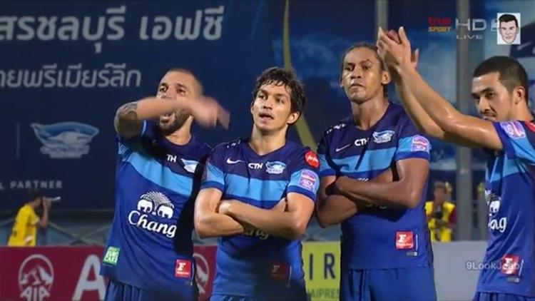 ชลบุรี เอฟซี 3-2 สุโขทัย เอฟซี