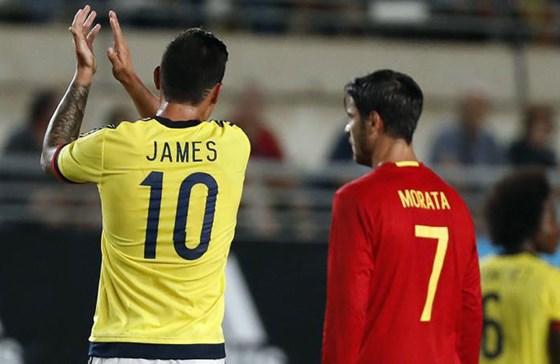 สเปน 2-2 โคลอมเบีย