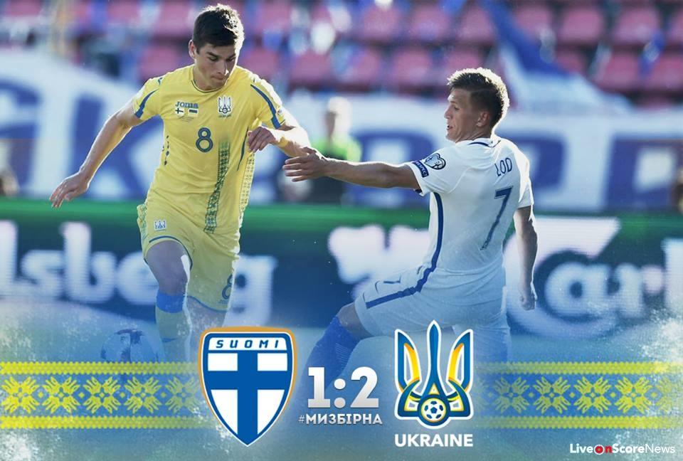 ฟินแลนด์ 1-2 ยูเครน