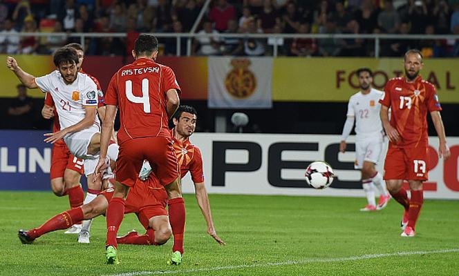 มาซิโดเนีย 1-2 สเปน