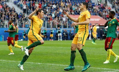 คอนเฟเดอเรชันส์คัพ แคเมอรูน 1-1 ออสเตรเลีย