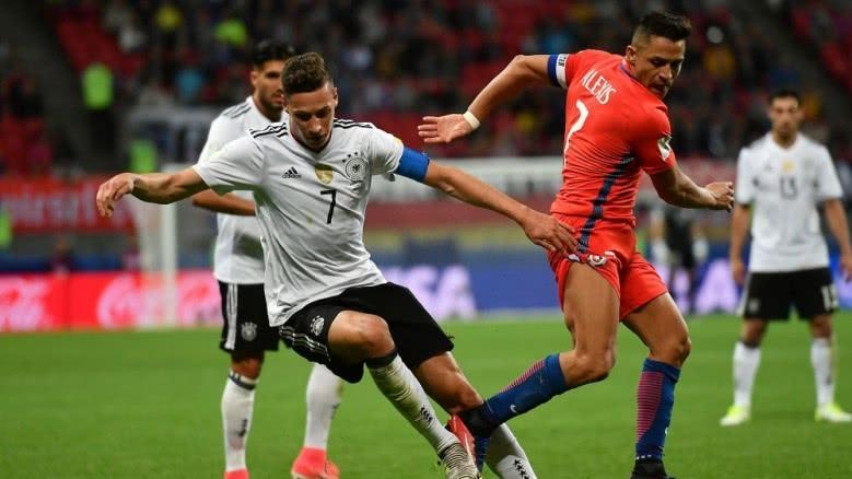 คอนเฟเดอเรชันส์คัพ เยอรมัน 1-1 ชิลี