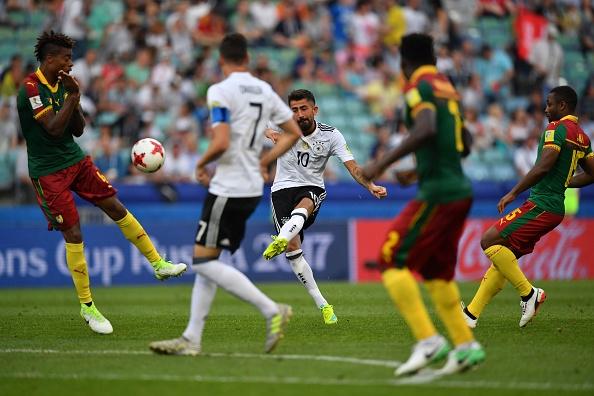 คอนเฟเดอเรชันส์คัพ เยอรมัน 3-1 แคเมอรูน