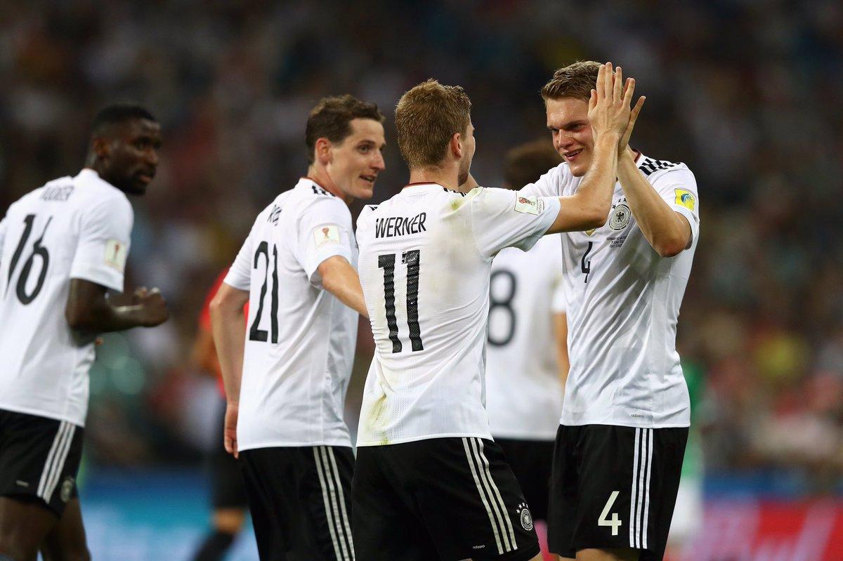 คอนเฟเดอเรชันส์คัพ เยอรมัน 4-1 เม็กซิโก