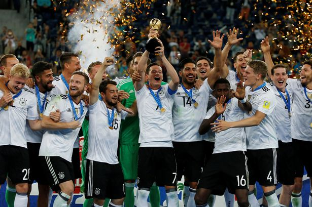 คอนเฟเดอเรชันส์คัพ ชิลี 0-1 เยอรมัน