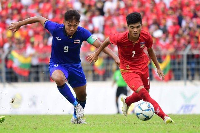 ไทย 1-0 พม่า