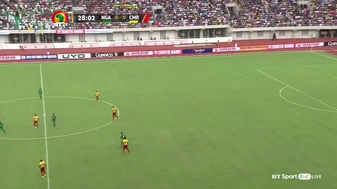 ไนจีเรีย 4-0 แคเมอรูน