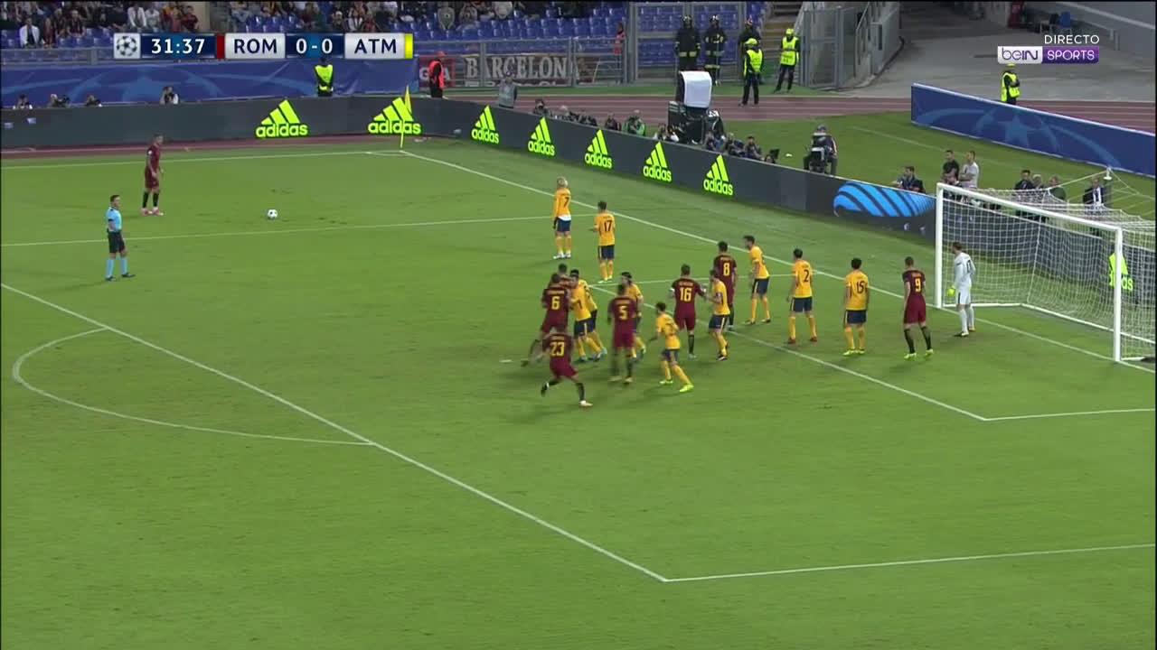 โรม่า 0-0 แอตเลติโก มาดริด