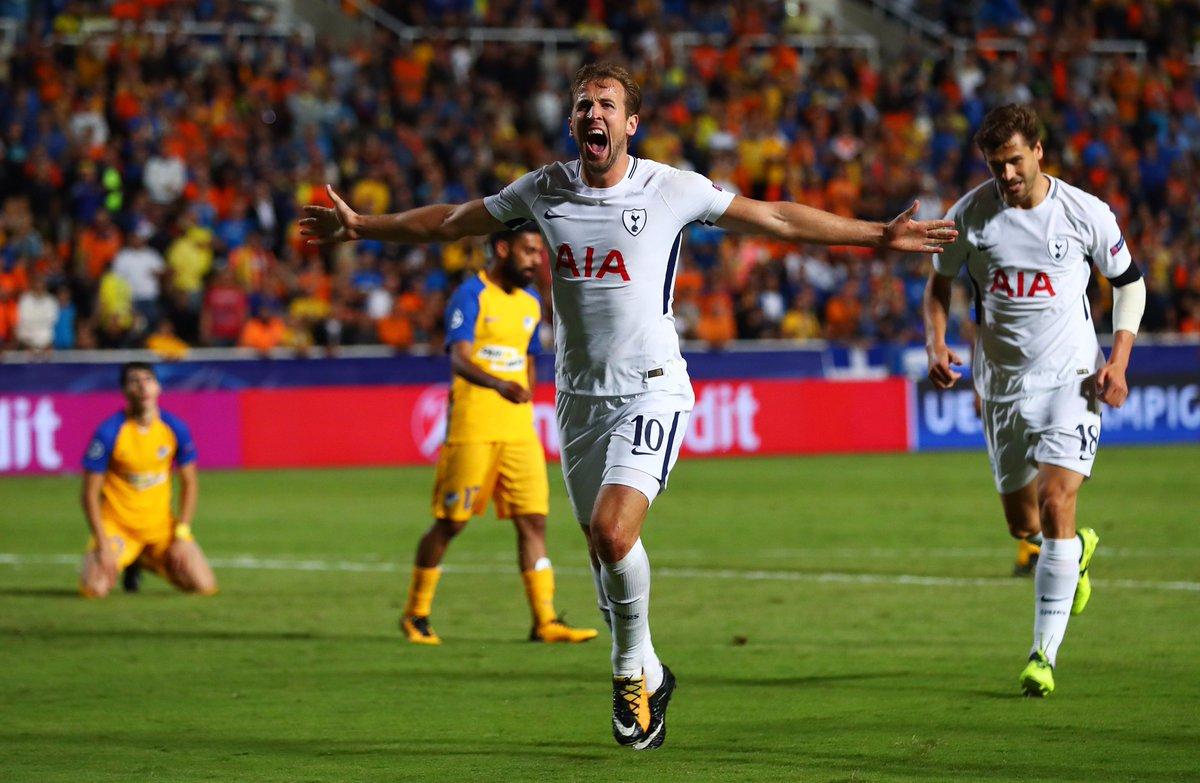 สเปอร์ส 3-0 อาโปเอล เอฟซี